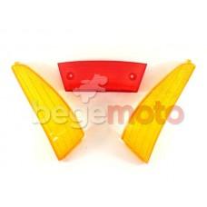 Стекла стопа и задних поворотов Suzuki Address 100