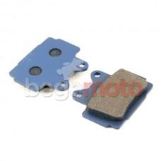 Колодки тормозные дисковые RZ250/SRX600 DAYTONA