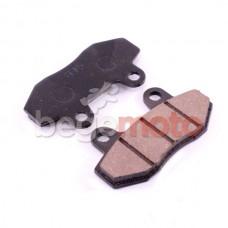 Колодки тормозные дисковые GY6-50/150 (без ушей) CN