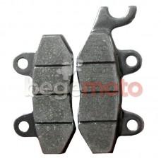 Колодки тормозные дисковые GY6-50/150 (ухо влево)