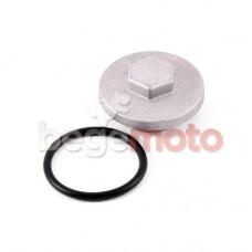 Крышка регулировки клапанов/слива масла Honda Dio 4T / GY6 (качество)