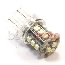 Лампа стоп сигнала светодиодная T20/12V/18SMD без цоколя (белая)