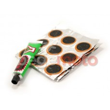 Комплект латок для ремонта камеры (круглые)