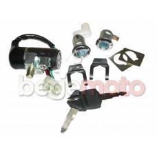 Комплект замков Honda Lead 90/Dio AF-18/Tact/TB-50