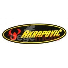 Наклейка Akrapovic (светоотражающая)