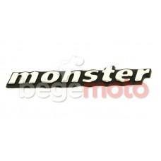 Наклейка Monster хром