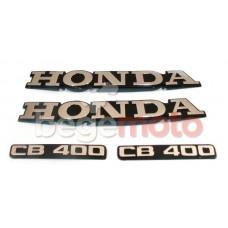 Набор хромированных наклеек HONDA CB400