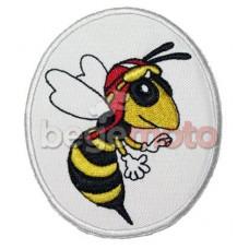 """Термонашивка """"Пчела"""" #1"""