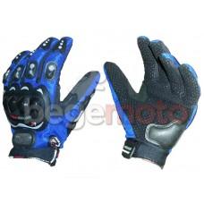 Перчатки защитные Pro-Biker синие