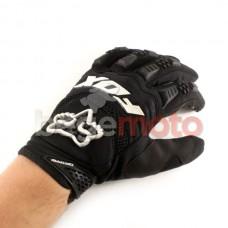 """Перчатки текстильные """"FOX Dirtpaw"""" (черные)"""
