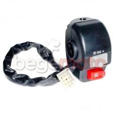 Блок управления под дисковый тормоз GY-6 (правый)