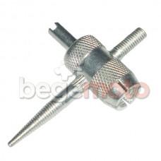 Ключ для прогонки резьбы вентиля