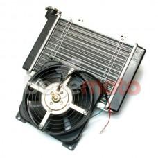 Радиатор системы охлаждения с вентилятором
