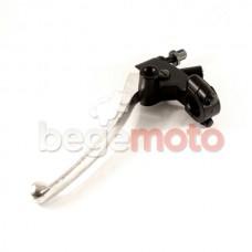 Ручка сцепления в сборе Honda CB400 (черный хомут)