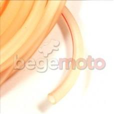 Топливный шланг 5х8х500мм силиконовый (прозрачный)