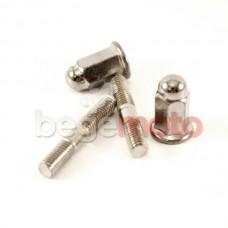 Шпильки и гайки цилиндра GY6-50, комплект