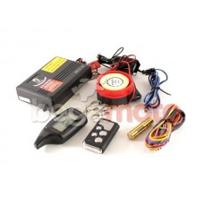 Мотосигнализация THOR (с обратной связью, иммобилайзер, дистанционный пуск)