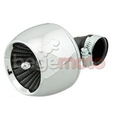 Фильтр нулевого сопротивления - chrome 35мм 90°