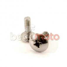 Винт крепления пластика М5х16 (малый)