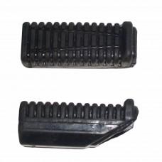 Комплект резинок подножек водителя