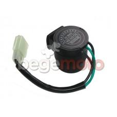 Реле поворотов 3-х контактное, механическое (с проводом, со звуком)